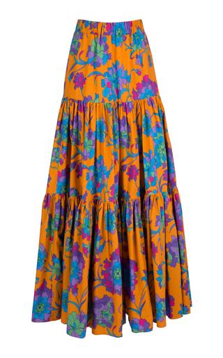 LA DOUBLEJ | La DoubleJ Printed Cotton Maxi Skirt | Goxip