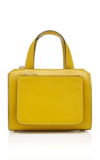 VALEXTRA   Valextra Passpartout Mini Leather Bag   Goxip