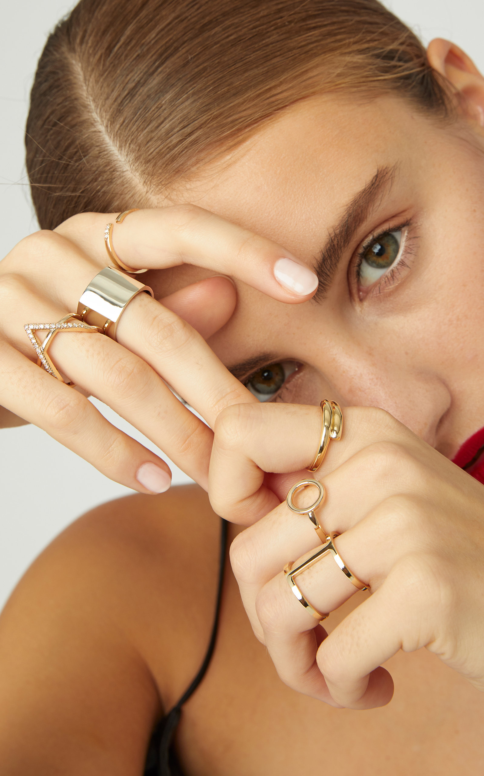 M'O Exclusive: Solid Circle Ring