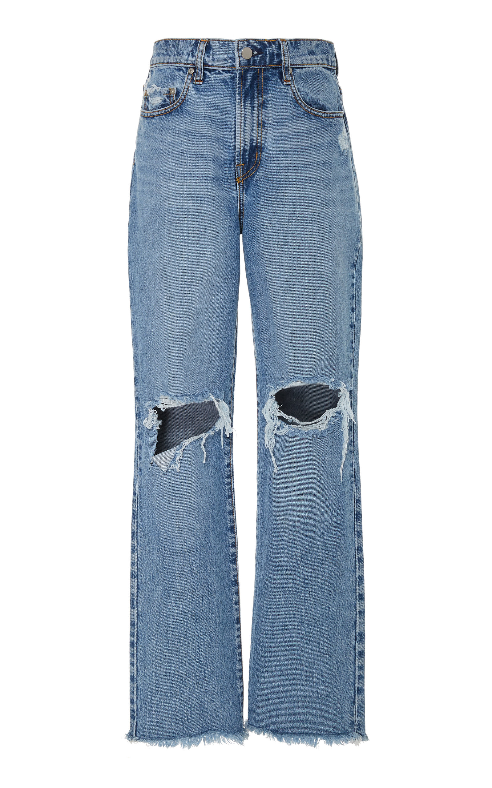 Nobody Denim ARLO HIGH-RISE FLARED JEANS