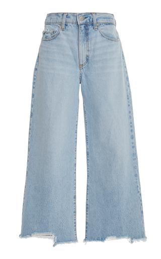 5b2ac3bcc4c0 Nobody DenimSkylar High-Rise Cropped Wide-Leg Crop Jeans