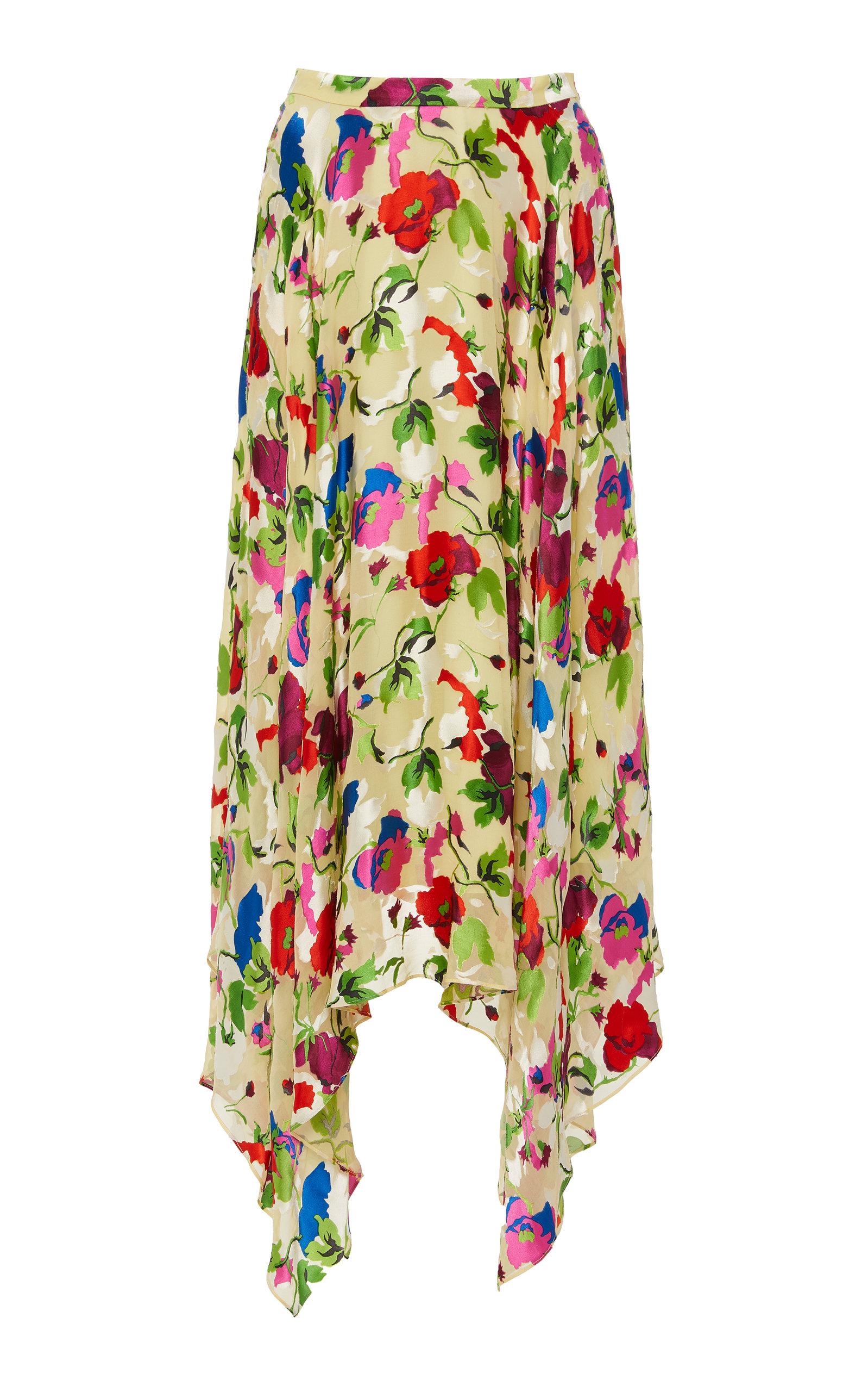 7be976bdba8 Wispy Floral Print Midi Dress
