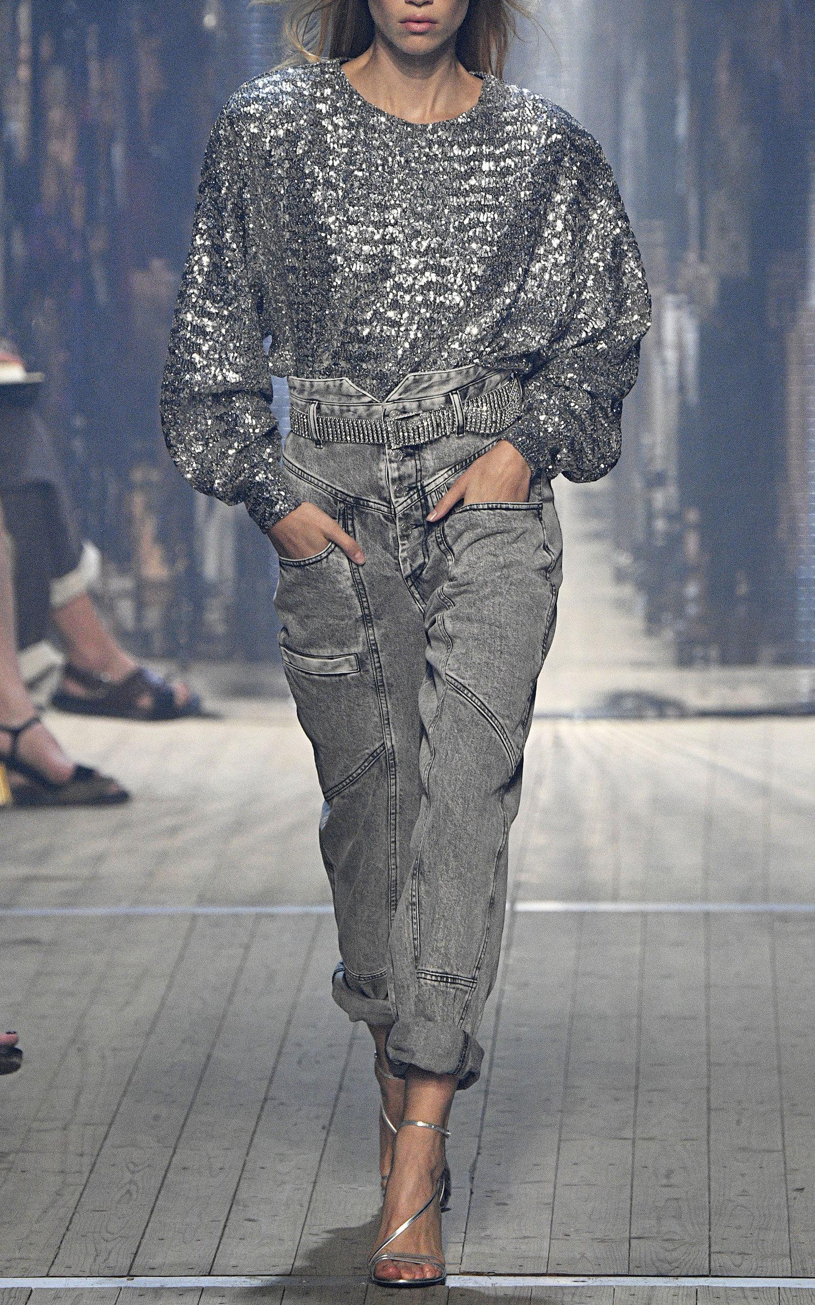 e0ed6df5b08 Isabel MarantRoger High-Rise Straight-Leg Jeans. CLOSE. Loading