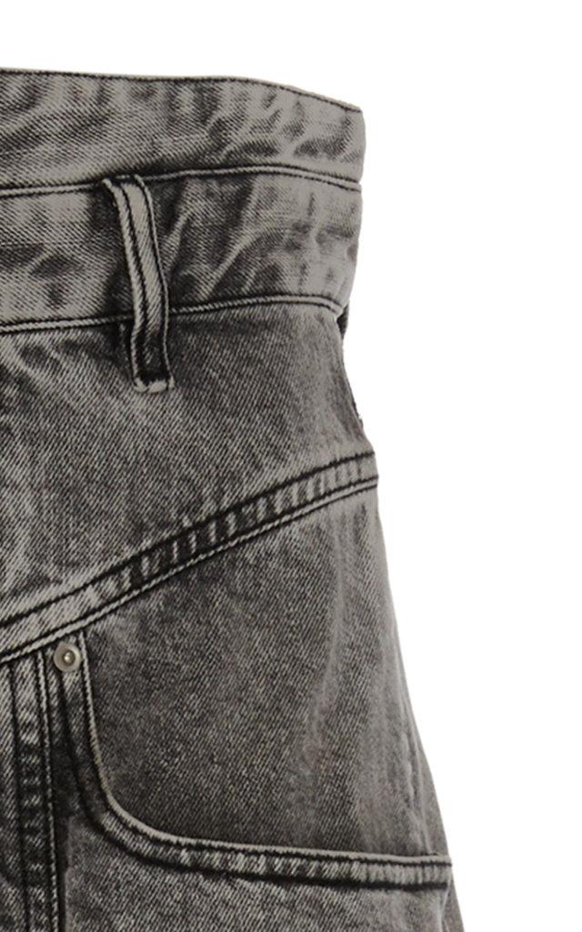 4386acf3b9d Isabel MarantRoger High-Rise Straight-Leg Jeans. CLOSE. Loading. Loading.  Loading. Loading