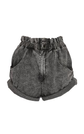 ISABEL MARANT   Isabel Marant Lucio High-Rise Denim Shorts   Goxip