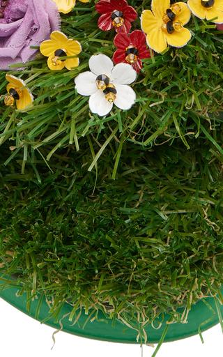 27b6f8ad8d02 Floral Embellished Slides by Dolce   Gabbana