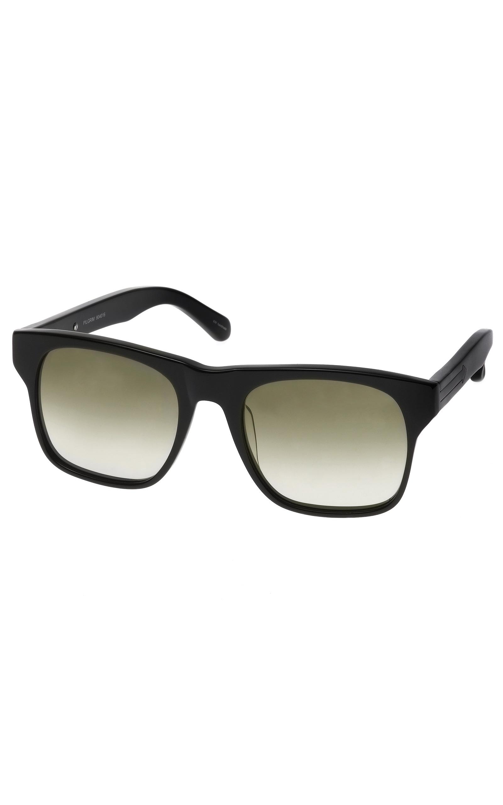 450944f3f690 Pilgrim Black Sunglasses by Karen Walker | Moda Operandi