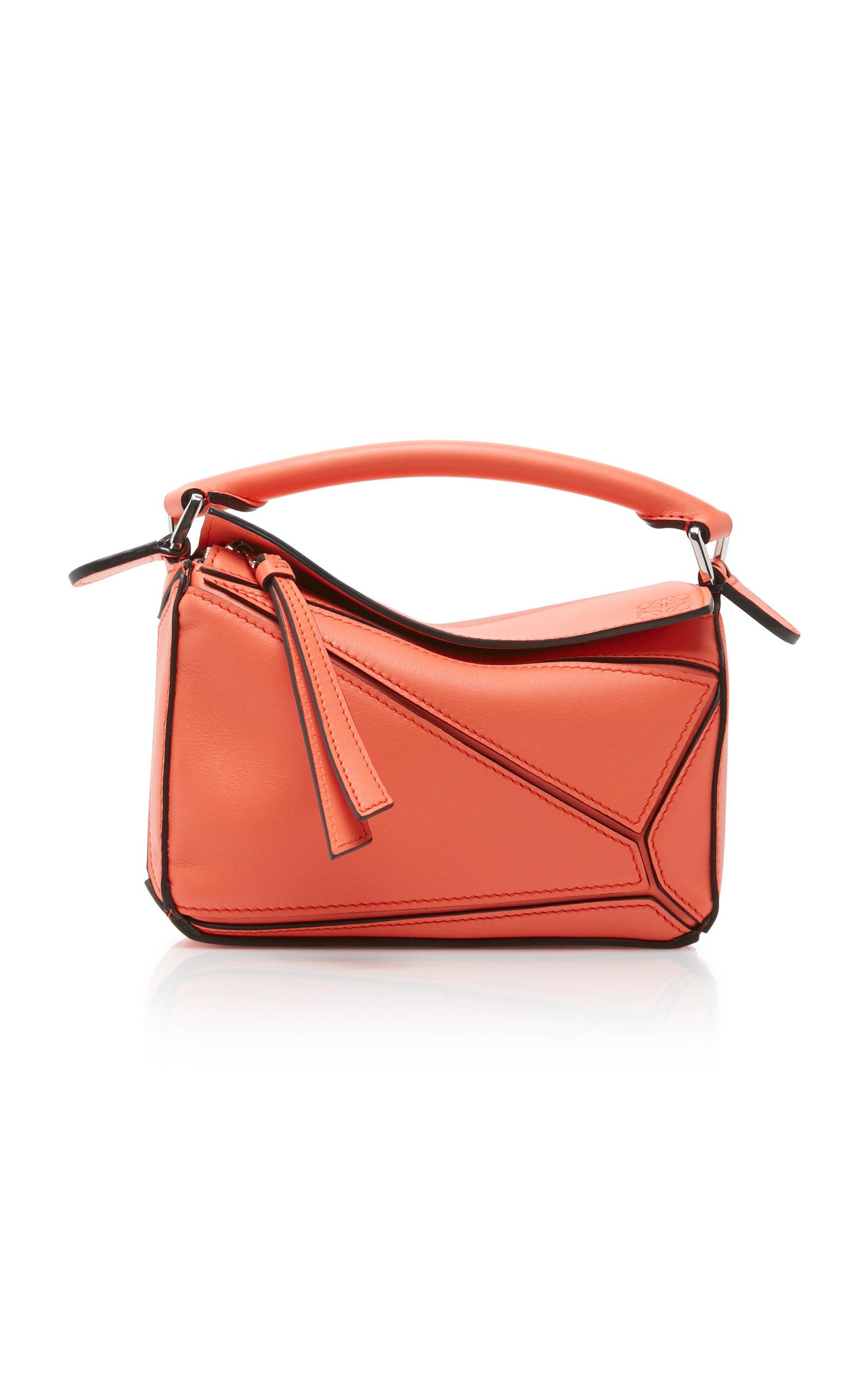57adc9b16efd5 Puzzle Mini Leather Shoulder Bag by Loewe | Moda Operandi