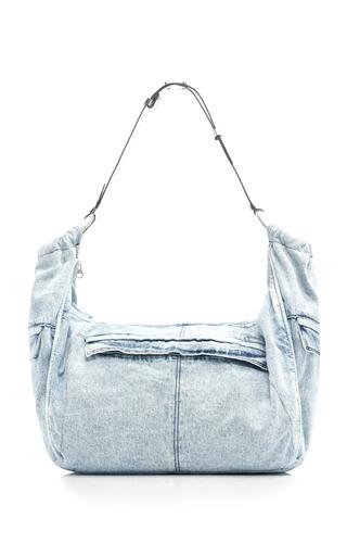 ISABEL MARANT | Isabel Marant Wilney Denim-Dyed Cotton Bag | Goxip