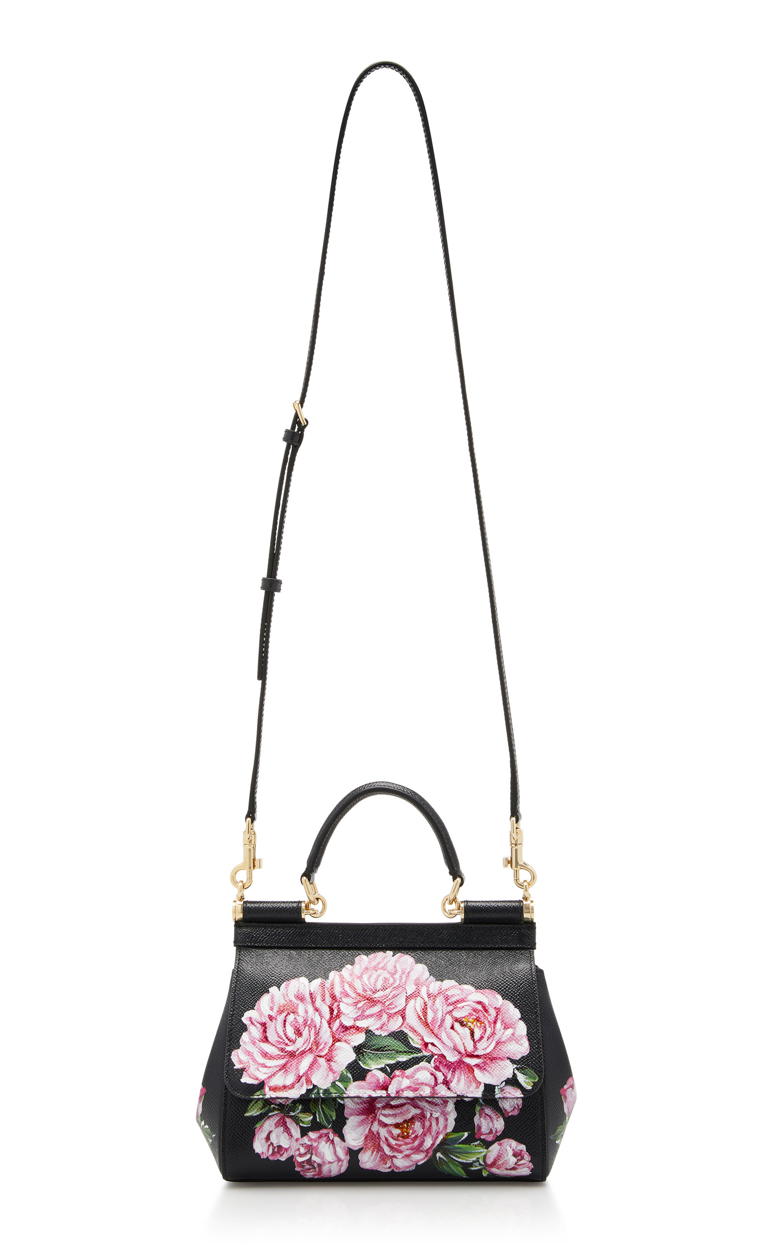 82c4d17d34 Dolce   GabbanaDauphine Sicily Hand-Painted Leather Bag. CLOSE. Loading