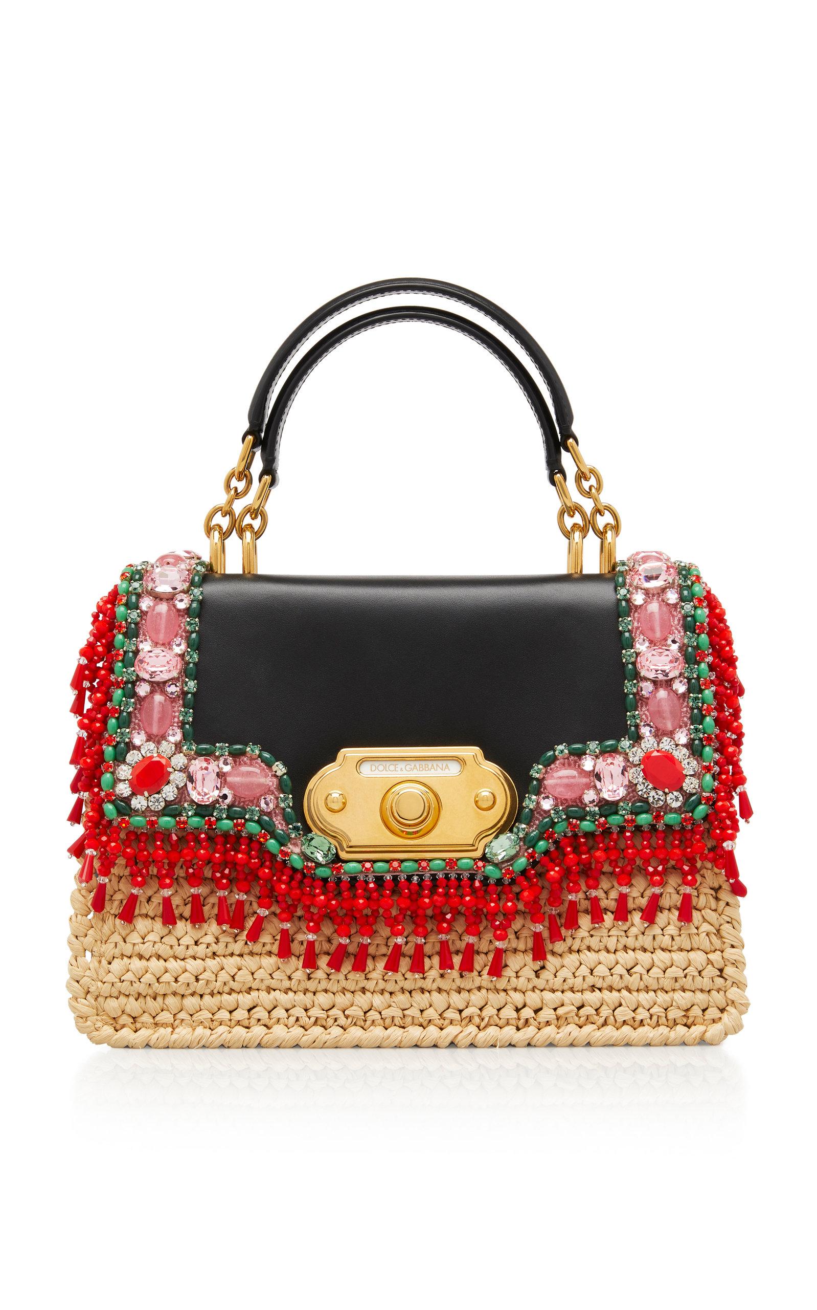 Raffia Welcome Bag by Dolce   Gabbana  87ff09bab3bb2