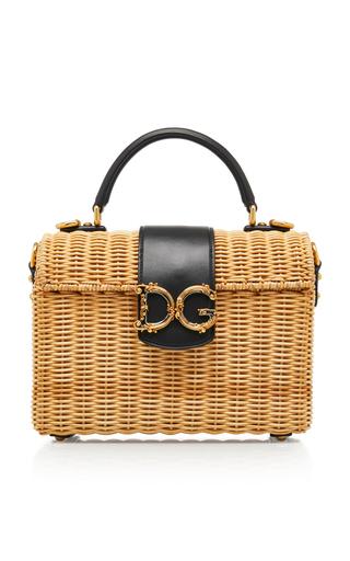 DOLCE & GABBANA | Dolce & Gabbana Wicker Bag | Goxip