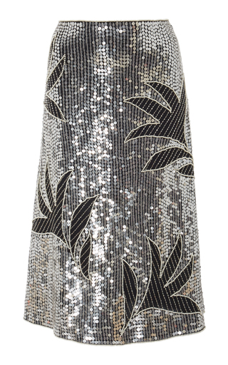 d0dc5a880 Only 2 Left. DoDo Bar Or. Clara Sequin-Embellished Midi Skirt. $745. $225 ·  PREORDER. Victoria Beckham. Pleated Snake-Print Silk-Twill ...