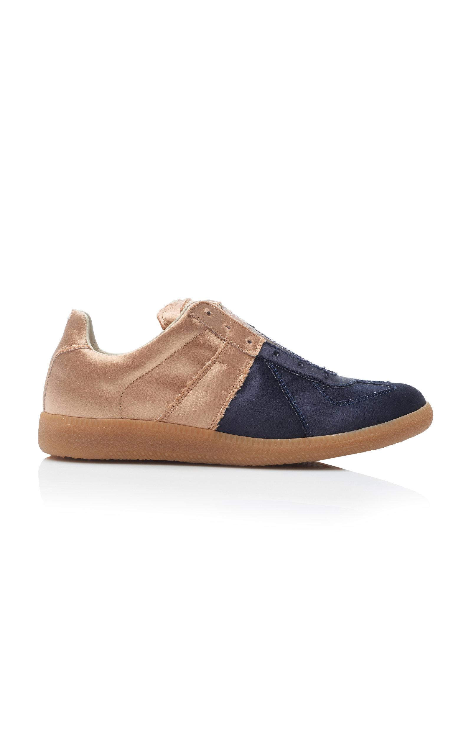 Maison Margiela Sneakers Two-Tone Satin Sneakers