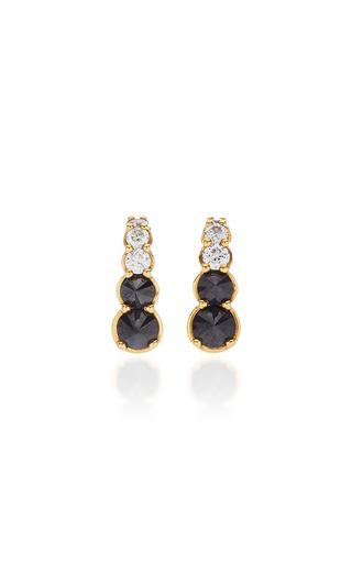 ARA VARTANIAN | Ara Vartanian 18K White Gold Diamond Earrings | Goxip