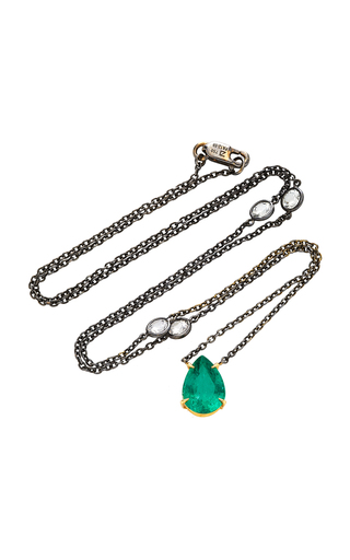 ARA VARTANIAN | Ara Vartanian 18K Gold Emerald Pendant | Goxip