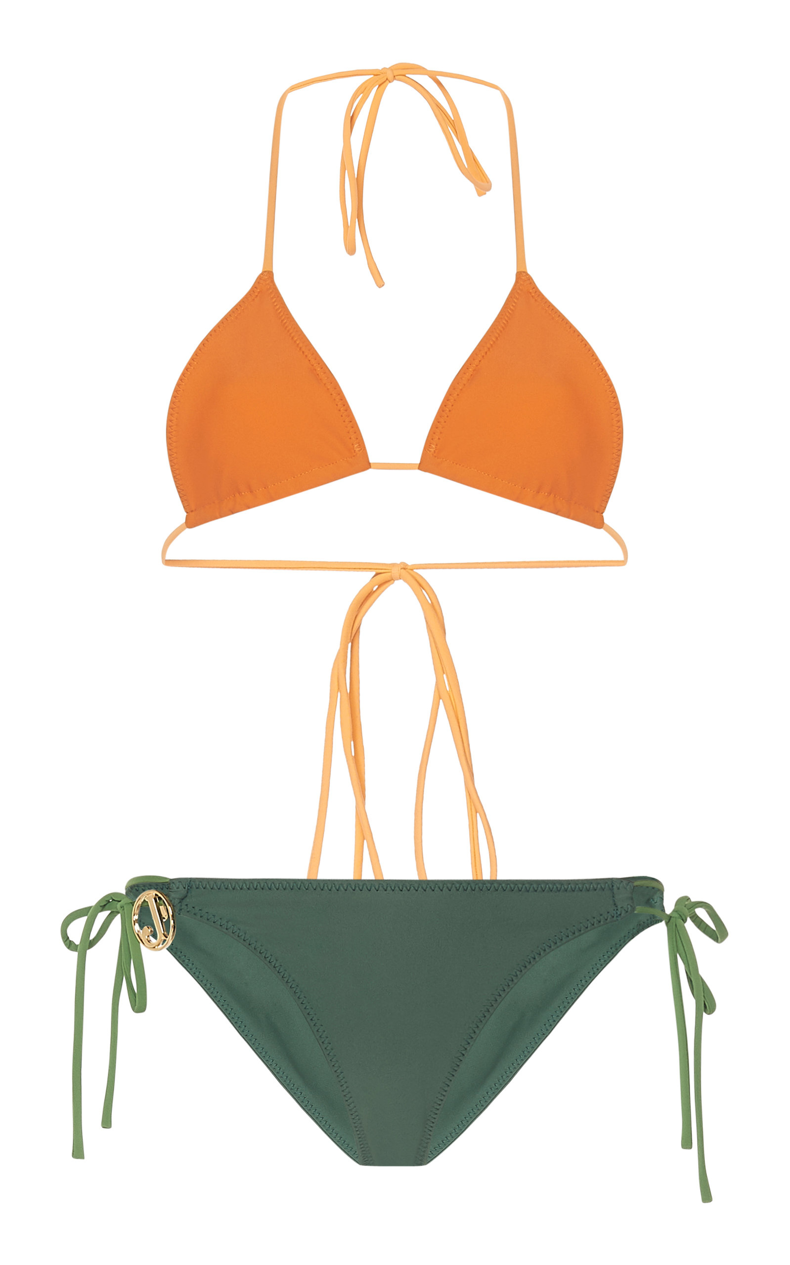 JACQUEMUS | Jacquemus Albenga Bikini Set | Goxip