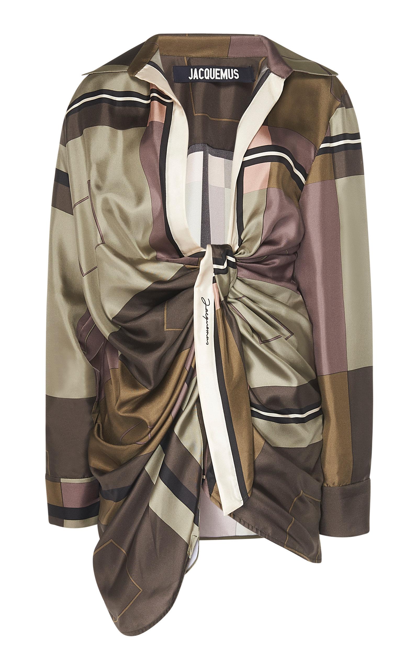 Jacquemus Dress Bahia Silk Dress