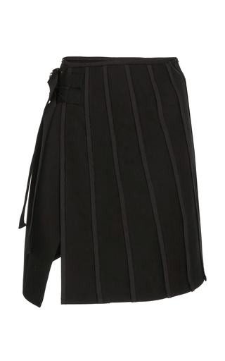 ATLEIN | Atlein Pleated Cotton Skirt | Goxip