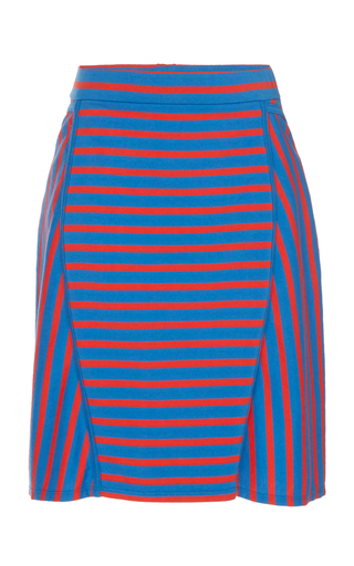 ATLEIN | Atlein Sailor Cotton Skirt | Goxip