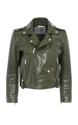 GIVENCHY | Givenchy Leather Biker Jacket | Goxip