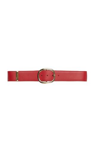 ELIE SAAB   Elie Saab Wide Leather Belt   Goxip