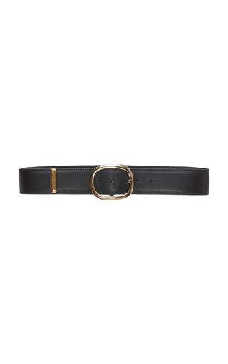 ELIE SAAB | Elie Saab Wide Leather Belt | Goxip