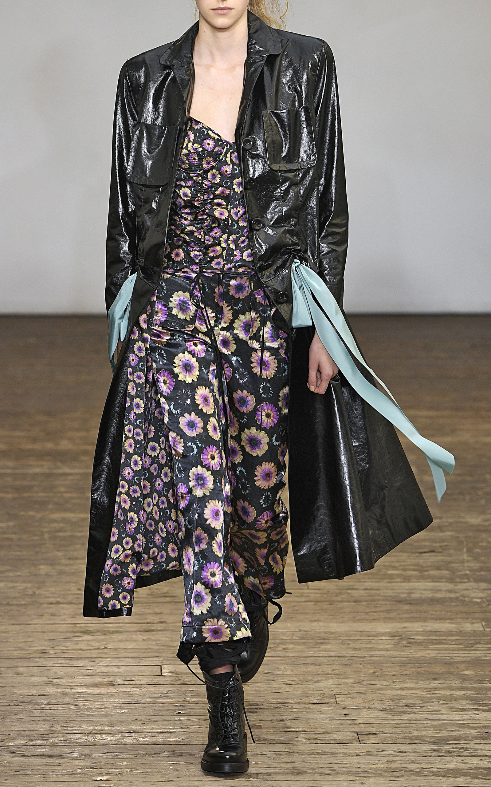 Moda Tailored Coat Leather Operandi By Olivier Naper Theyskens p1qRcf4fU