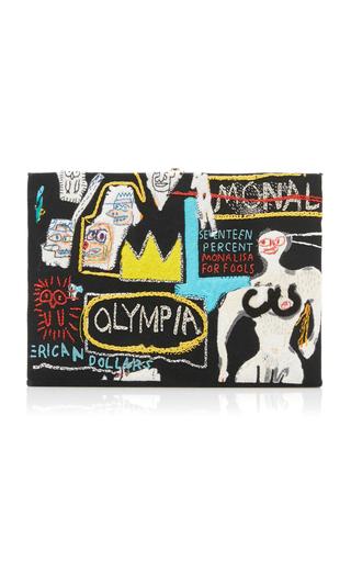 OLYMPIA LE-TAN | Olympia Le-Tan Basquiat Olympia Clutch | Goxip