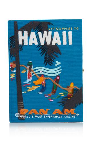 OLYMPIA LE-TAN | Olympia Le-Tan Hawaiian Surfers Clutch with Strap | Goxip
