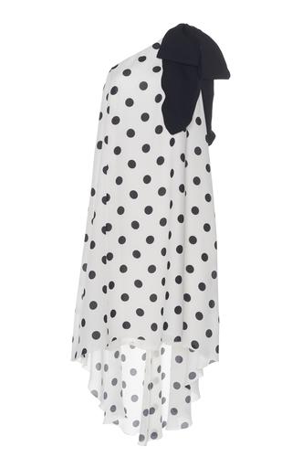 ANDREW GN | Andrew Gn Asymmetric Silk Dress | Goxip