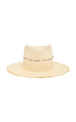 NICK FOUQUET | Nick Fouquet Little Havana Embroidered Straw Hat | Goxip