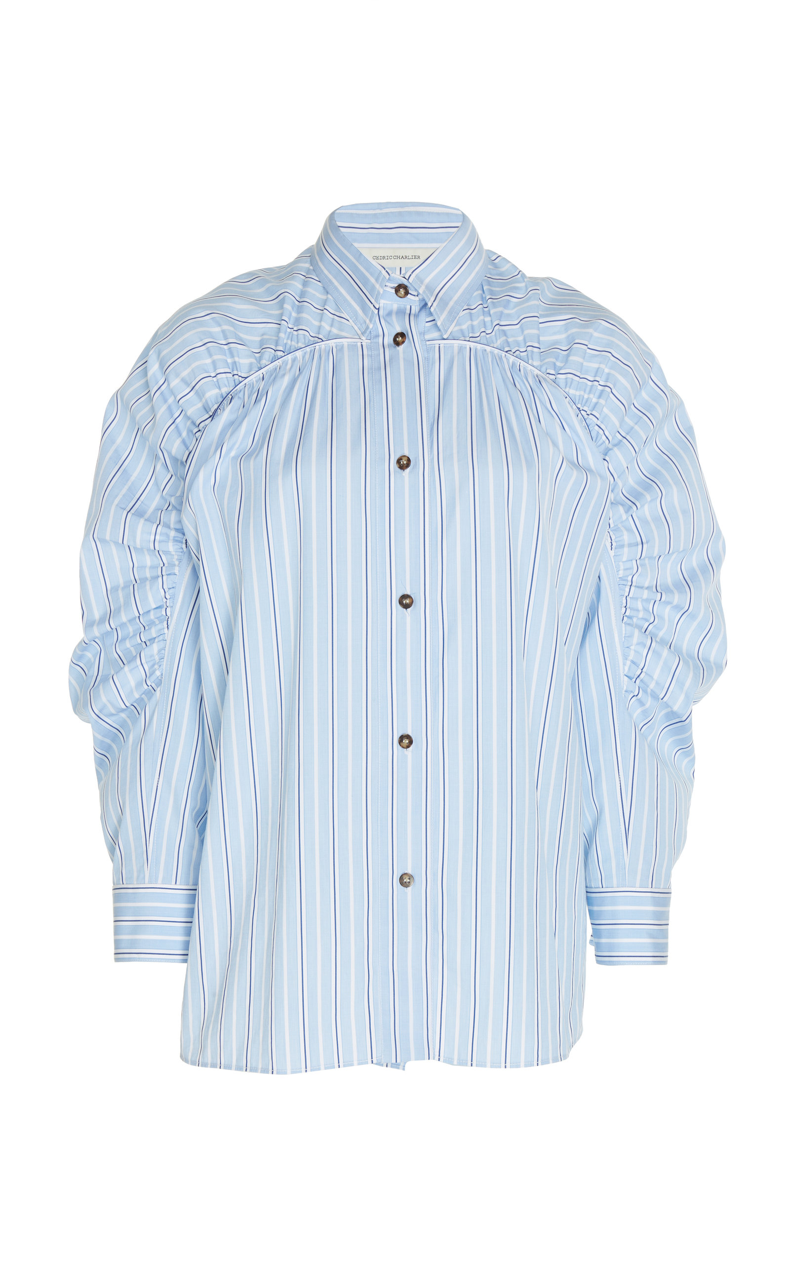ec33e43158ea3 Stripe Cotton Shirt