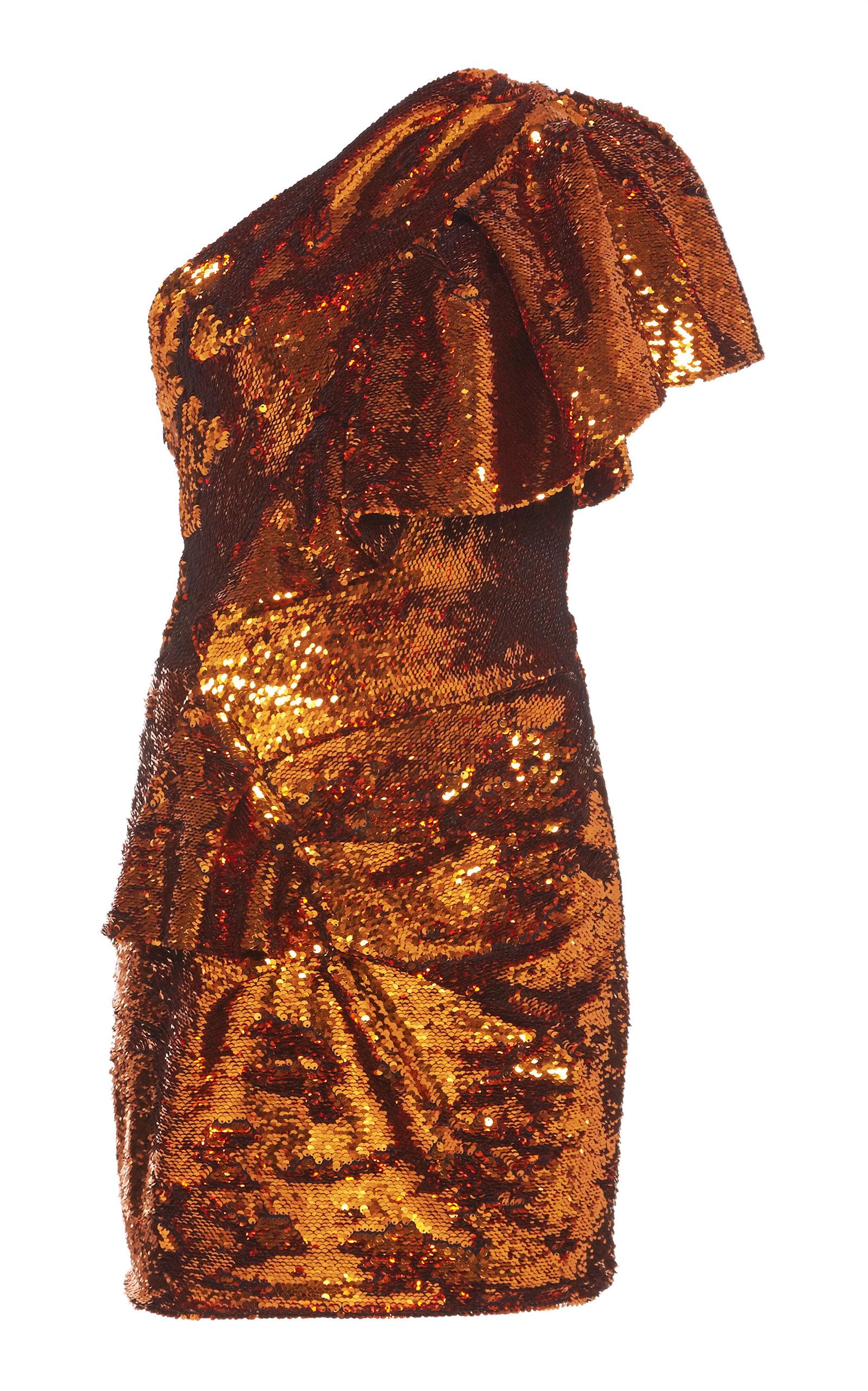 201eb85a One-Shoulder Sequin Dress by Alexandre Vauthier | Moda Operandi