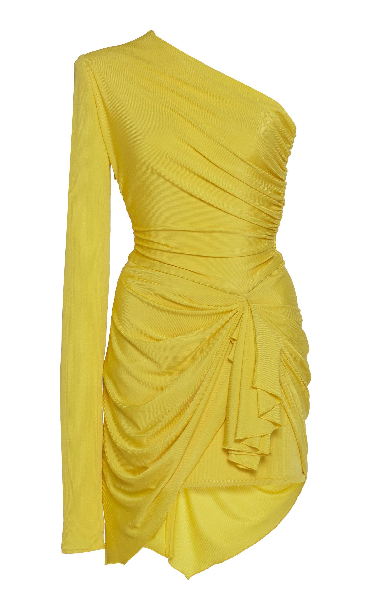 93eee05e One-Shoulder Jersey Dress by Alexandre Vauthier | Moda Operandi