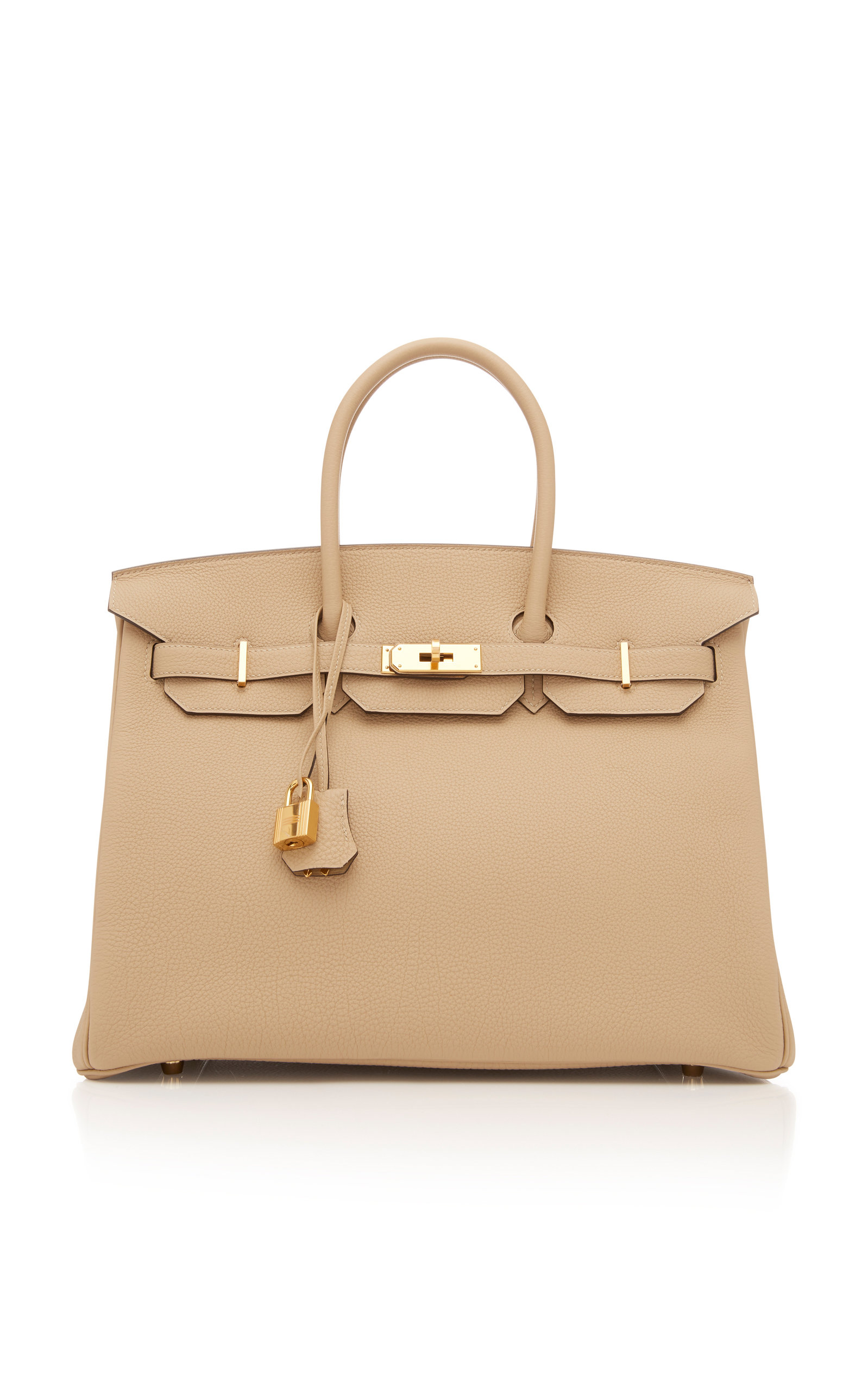 Hermes 35cm Trench Togo Leather Birkin