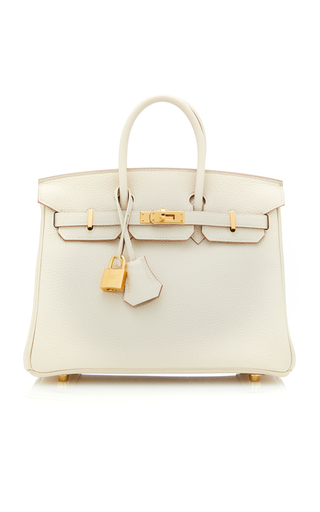 b0937c7e36 Hermes 40Cm Barenia And Toile Ghillies Birkin by Hermes Vintage ...