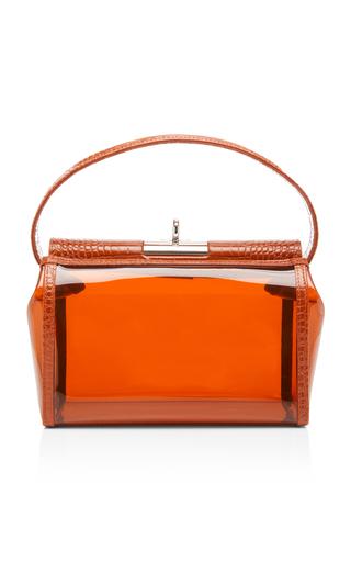 f7641f49d13 gu deWater Leather-Trimmed PVC Bag