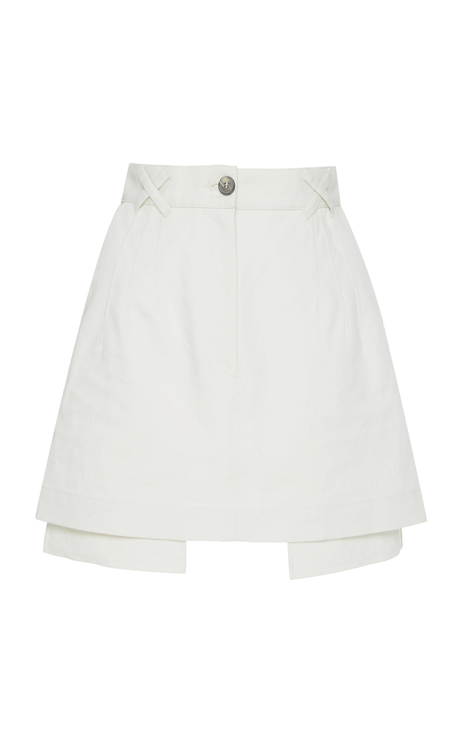 OFF-WHITE | Off-White C/O Virgil Abloh Cotton Mini Skirt | Goxip