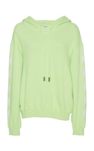 090c77e1d7eb Off-White c o Virgil AblohLogo Knit Cotton Sweatshirt