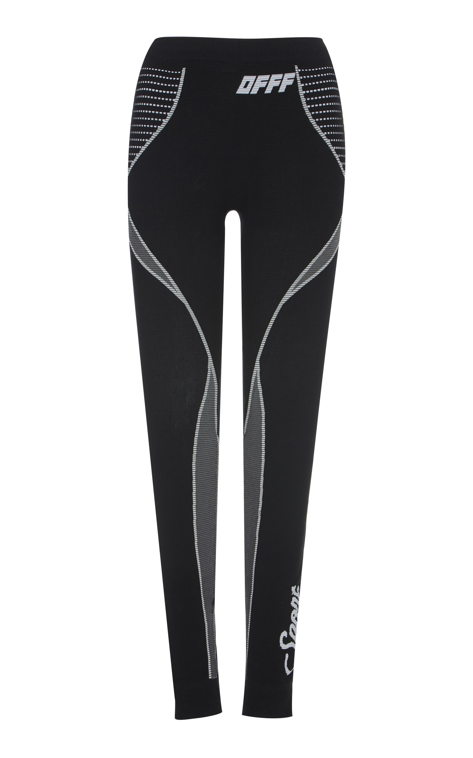 2c02eb98c7d8d Logo-Printed Stretch Leggings by Off-White c/o Virgil Abloh   Moda ...