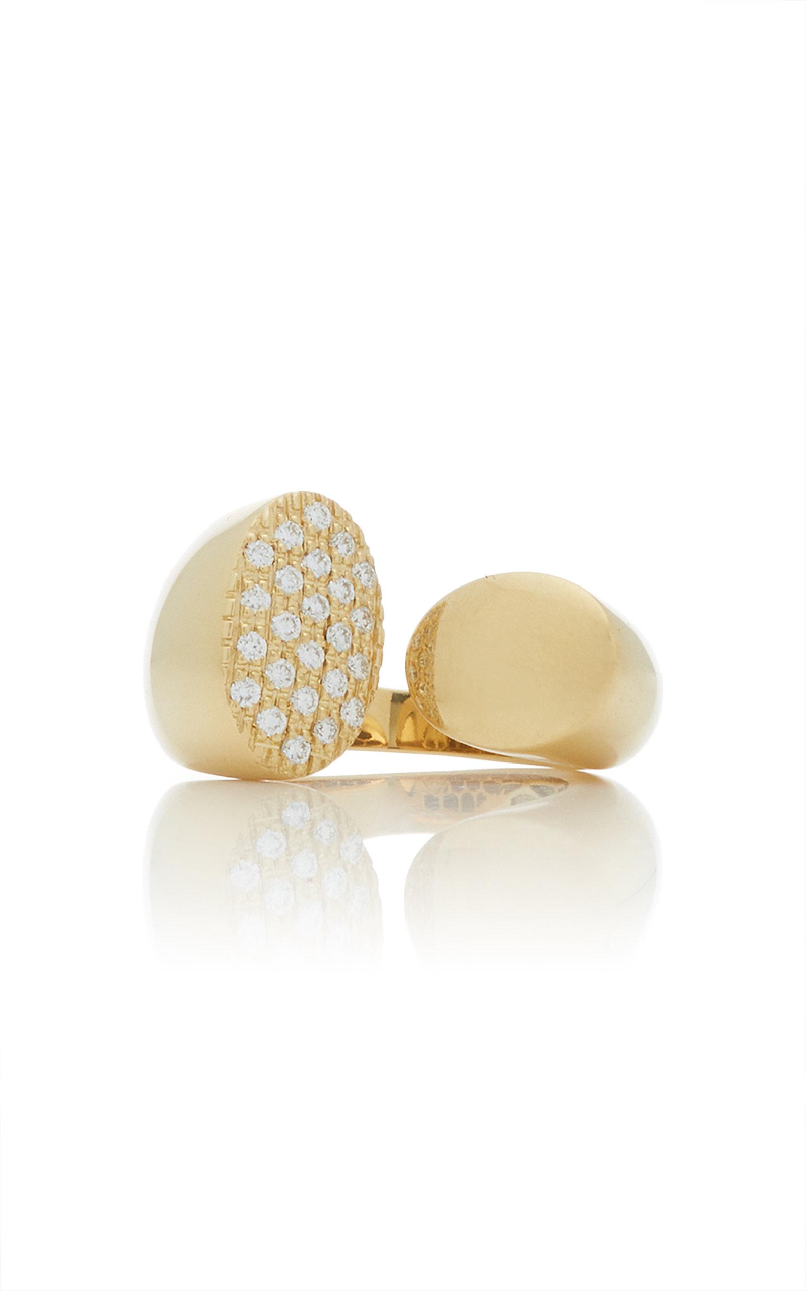 GIOVANE | Giovane 18K Gold And Diamond Ring | Goxip