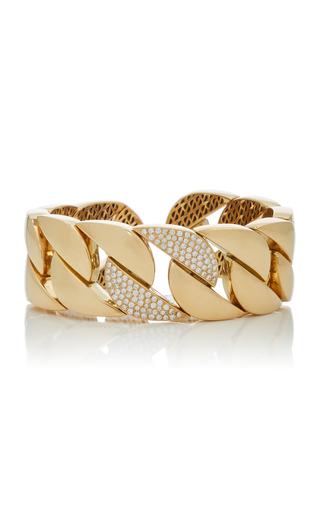 GIOVANE | Giovane 18K Gold and Diamond Chain Link Bracelet | Goxip