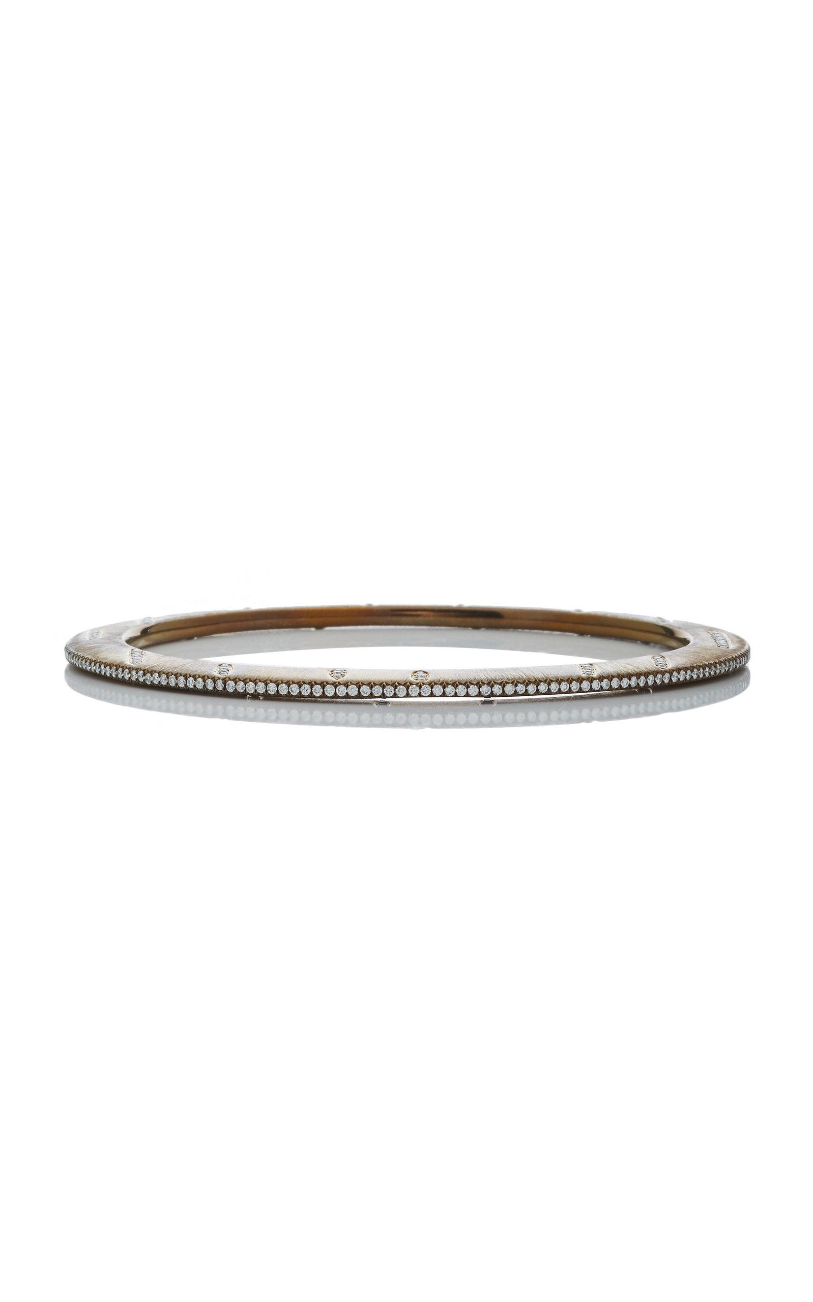 GIOVANE | Giovane Titanium And Diamond Bracelet | Goxip