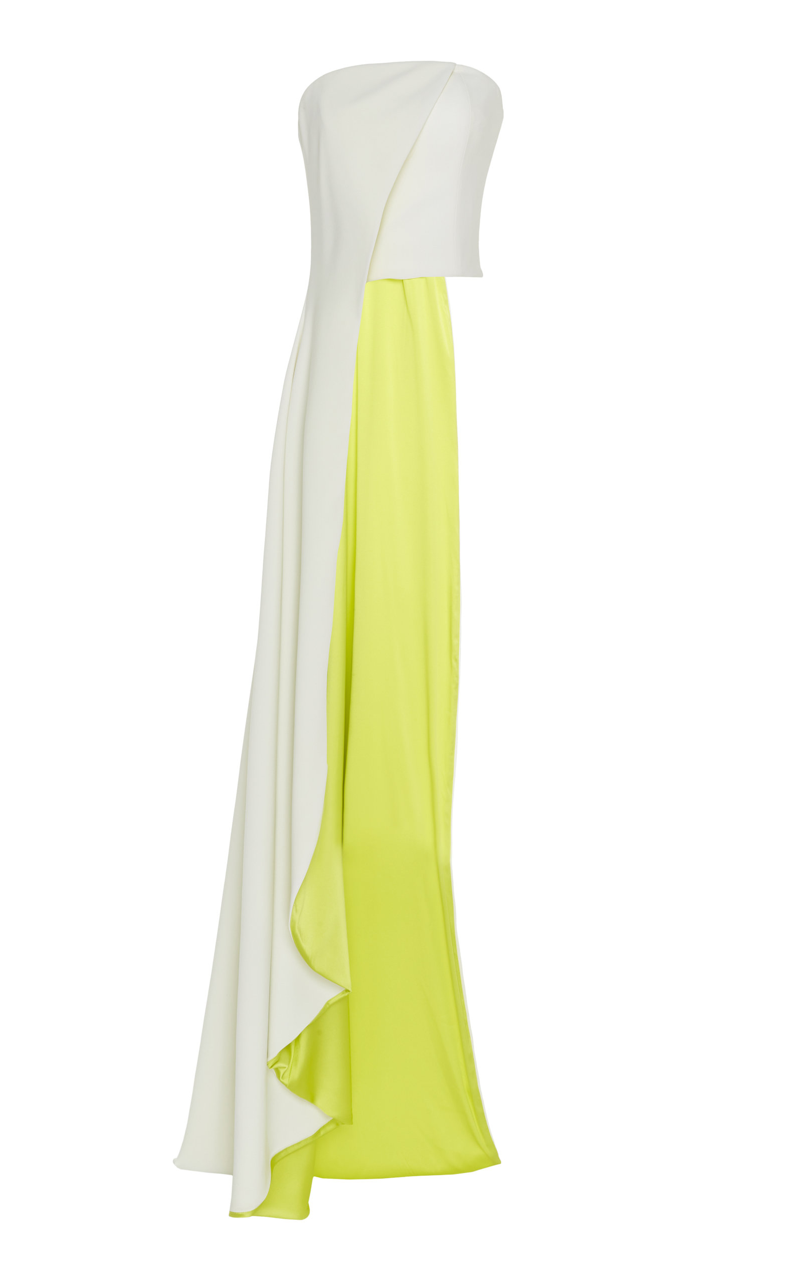 Christian Siriano STRAPLESS CREPE BUSTIER TOP