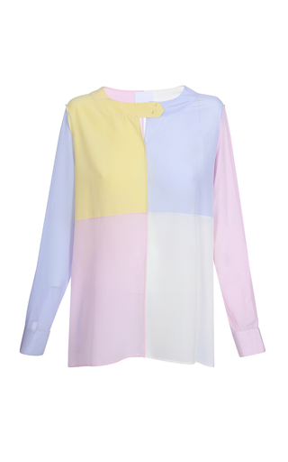 BEVZA | BEVZA Four Colors Blouse | Goxip