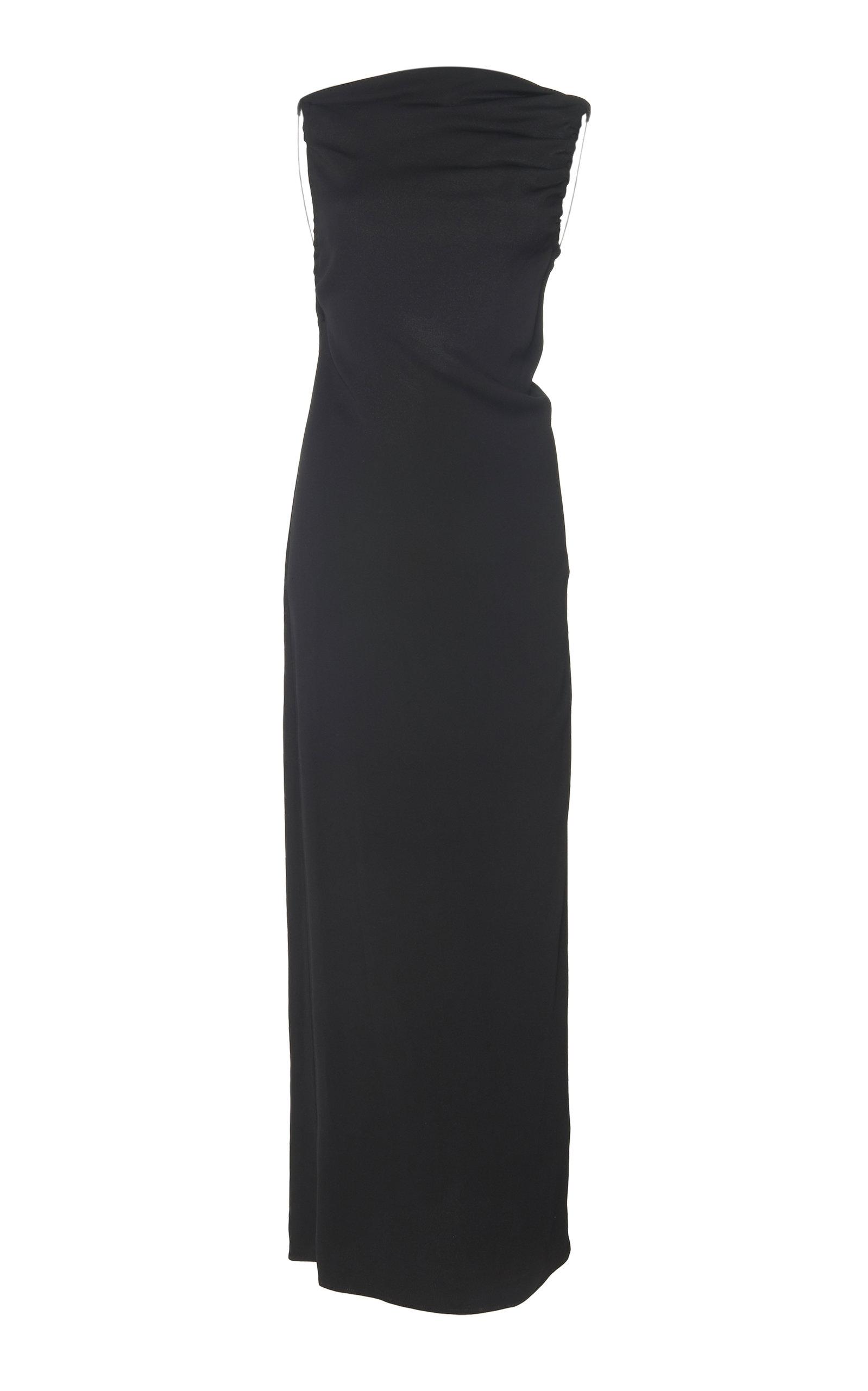 a18cc69bfba1 Yrjo Backless Tie-Detail Crepe Dress by Christopher Esber | Moda ...