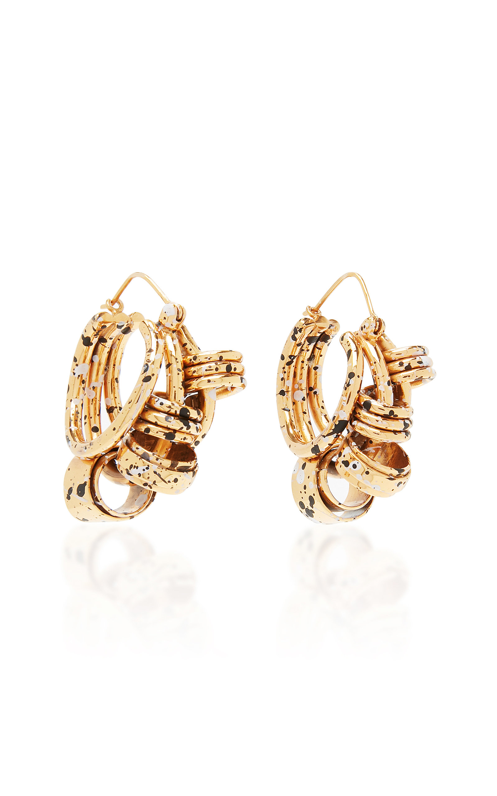Ellery NELSON SPLATTER COILED EARRINGS