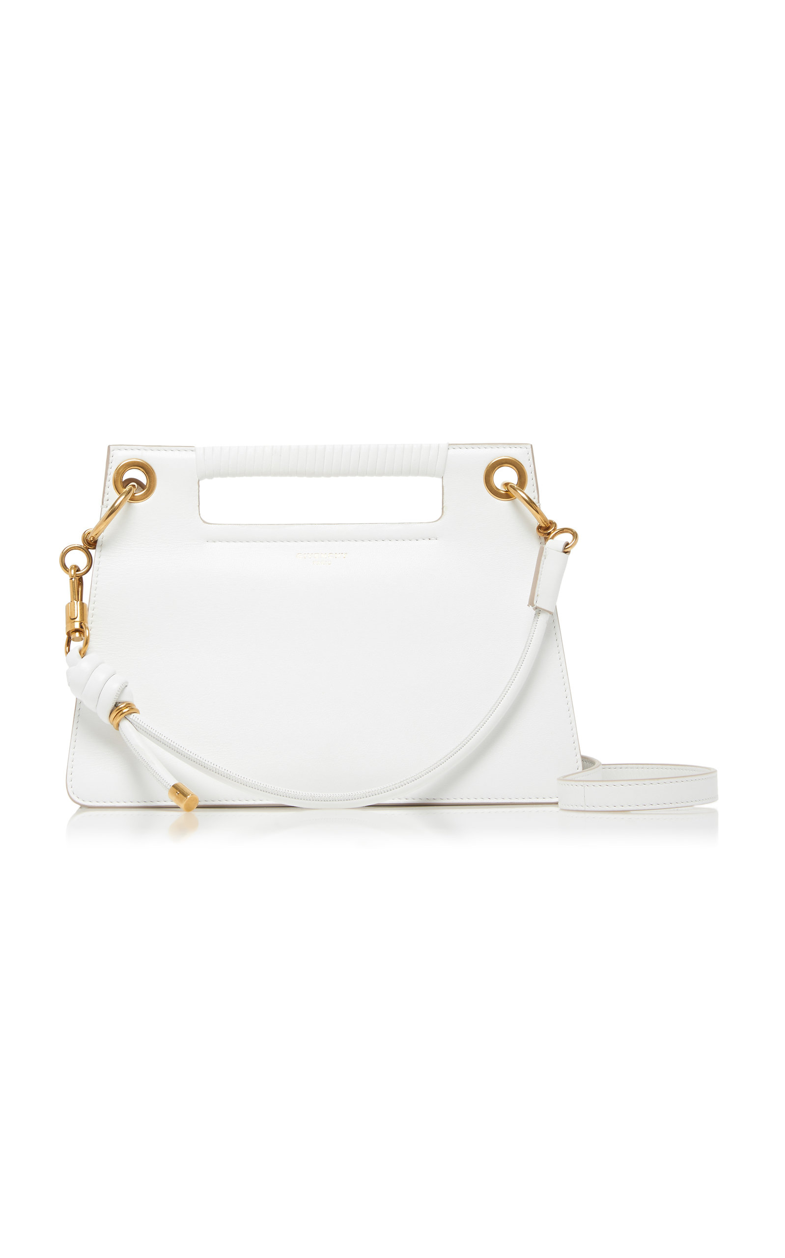 GIVENCHY | Givenchy Whip Small Knotted Leather Shoulder Bag | Goxip