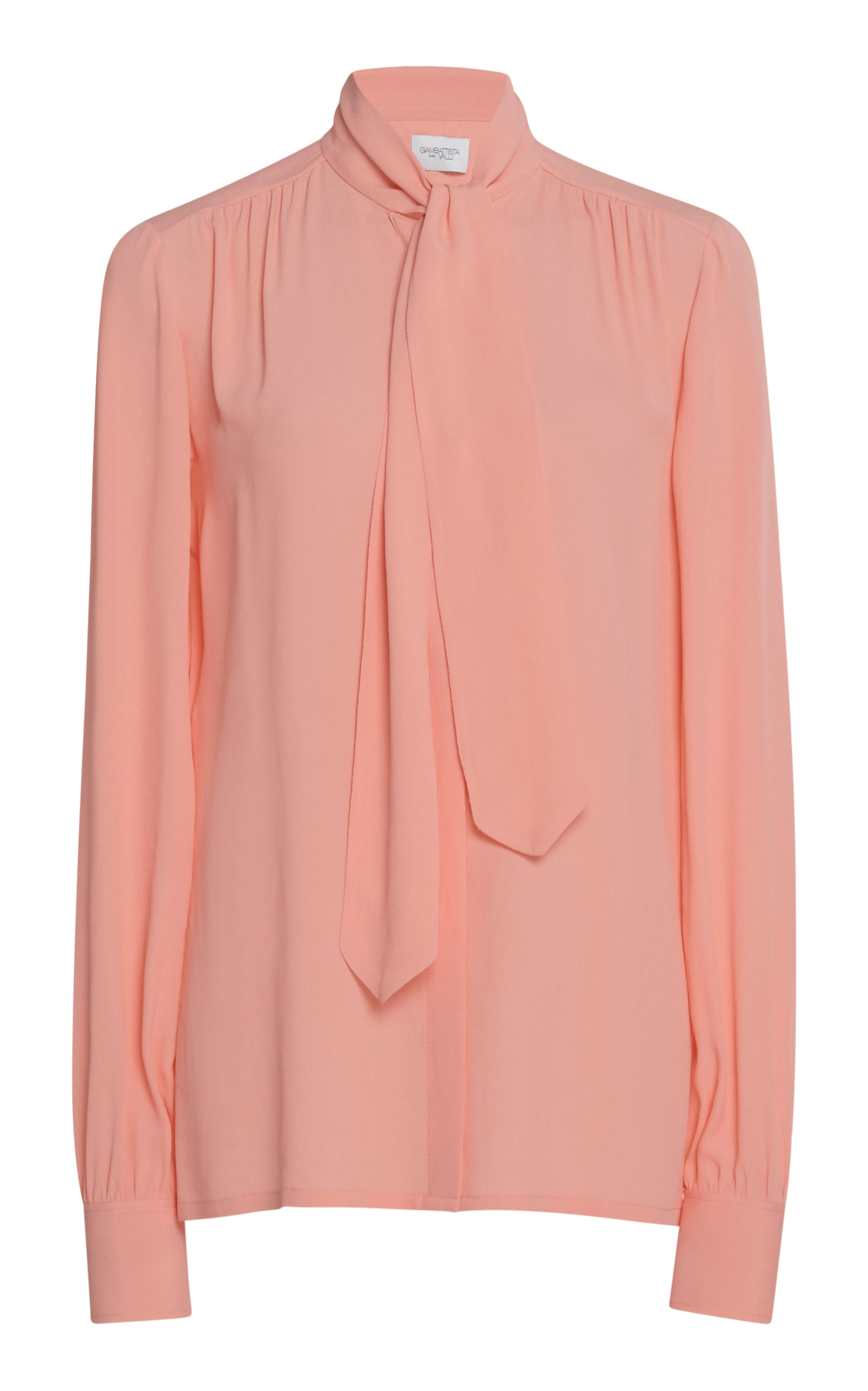 684533a83fef09 Pussy Bow Long Sleeve Blouse by Giambattista Valli